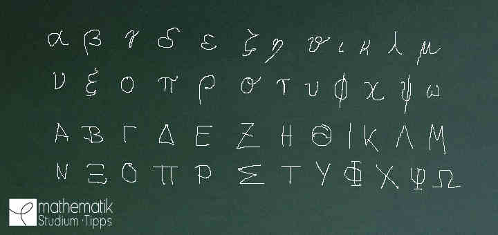 Alle Griechischen Buchstaben