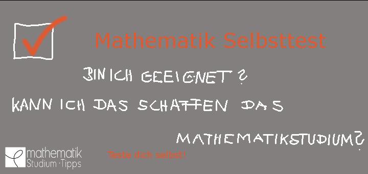 Mathematikstudium Test: Bin ich geeignet? – 5 Tests im Vergleich